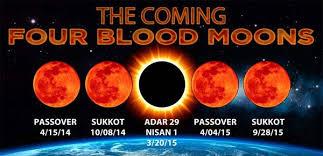 Les quatre Lunes de sang